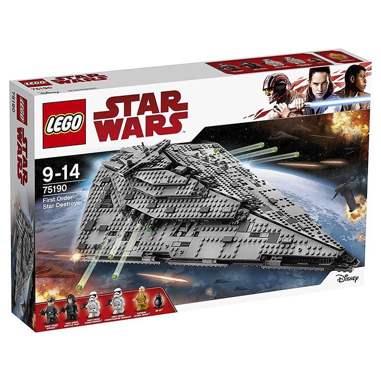 """75190 STAR WARS """"Звездный разрушитель первого ордена"""""""