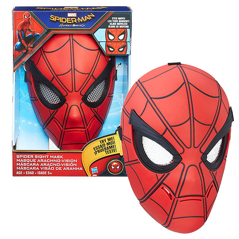 9695 SPIDER-MAN Интеракт маска Человека-паука