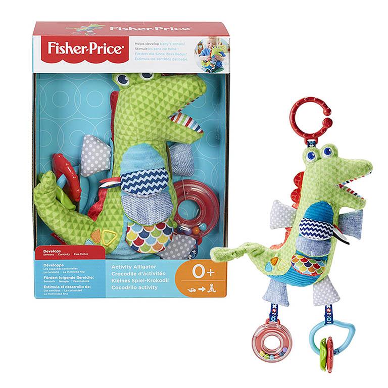 FDC57 Fisher-Price Развивающая игрушка Крокодил