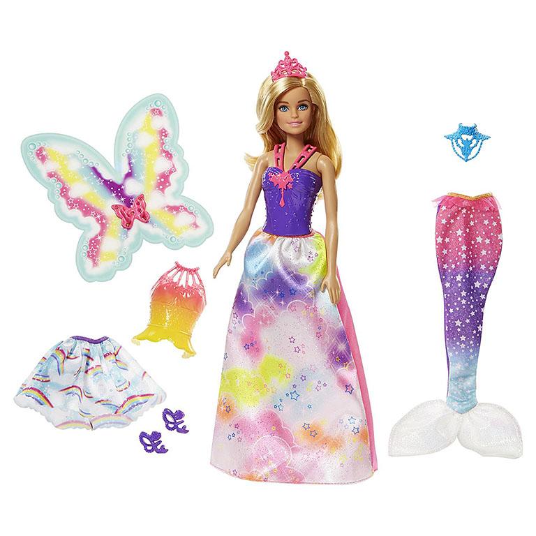 "FJD08 BARBIE ""Сказочная принцесса-фея-русалка"""