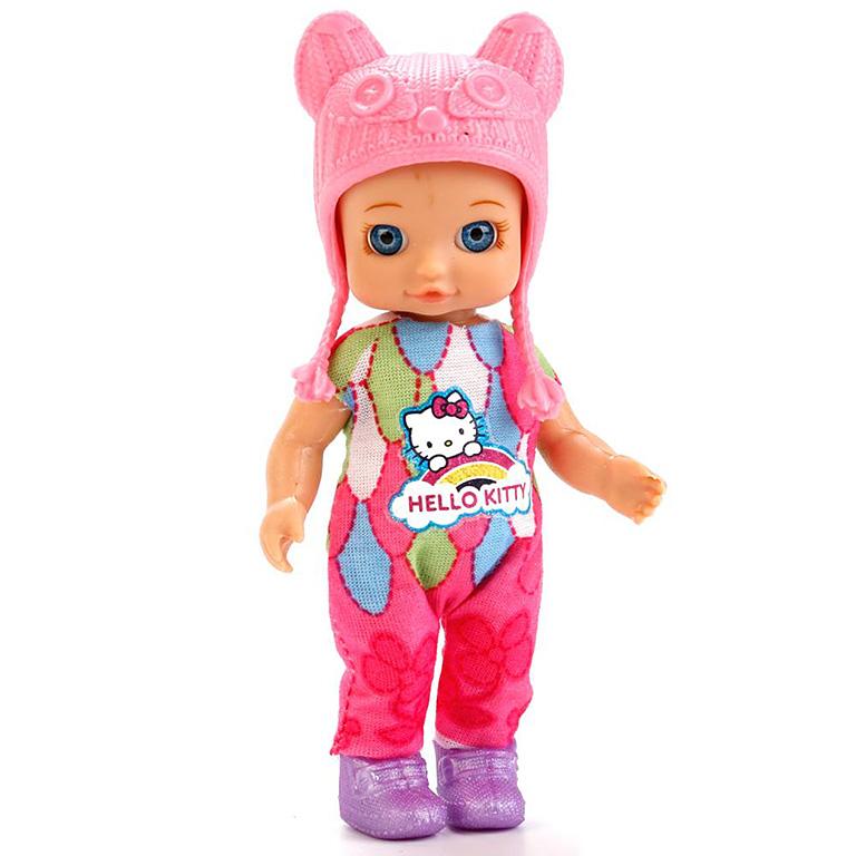 "YL1701A-RU-HK (60) Кукла ""Карапуз"" Hello Kitty 12см, без звука, с доп. одеждой и аксесс., в ассорт."