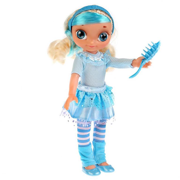 SP0117-S-RU-OTF Кукла озвуч. Сказочный патруль, Снежка 33см, с доп. набором одежды