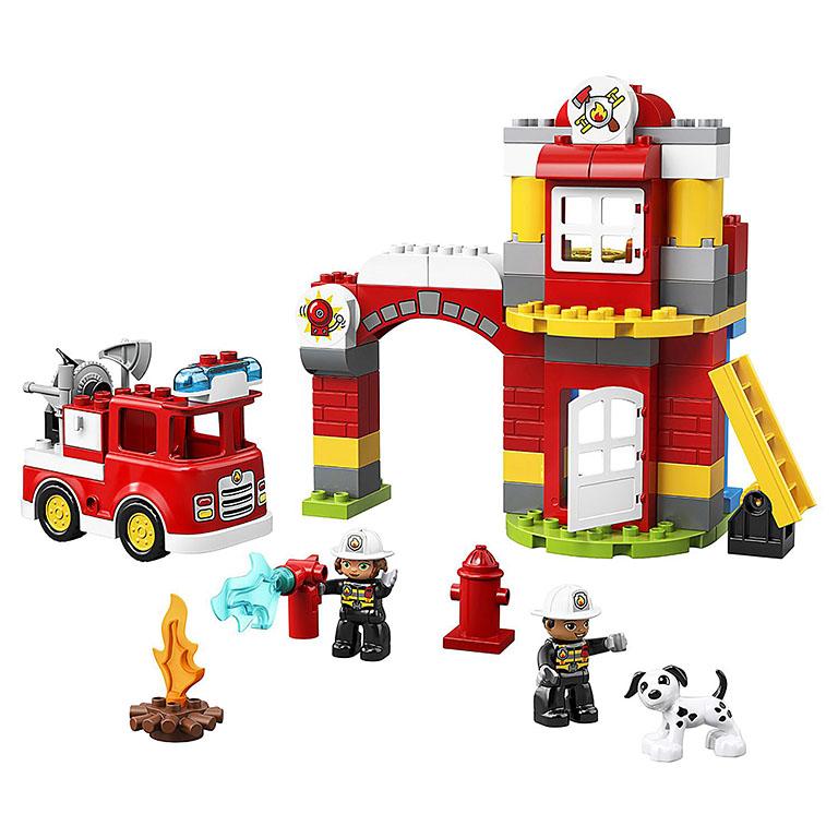 """10903 DUPLO """"Пожарное депо"""""""