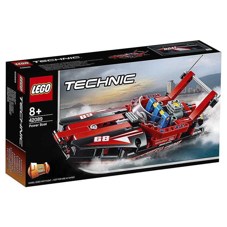 """42089 TECHNIC """"Моторная лодка"""""""