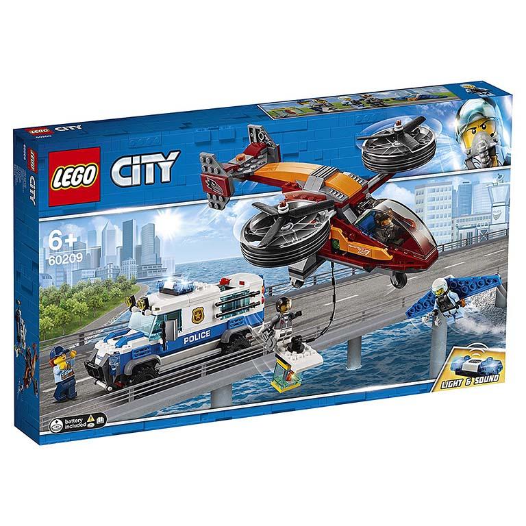 """60209 CITY """"Воздушная полиция: кража бриллиантов"""""""