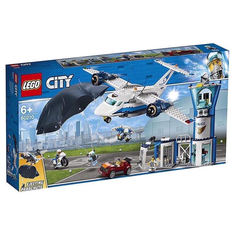 """60210 CITY """"Воздушная полиция: авиабаза"""""""