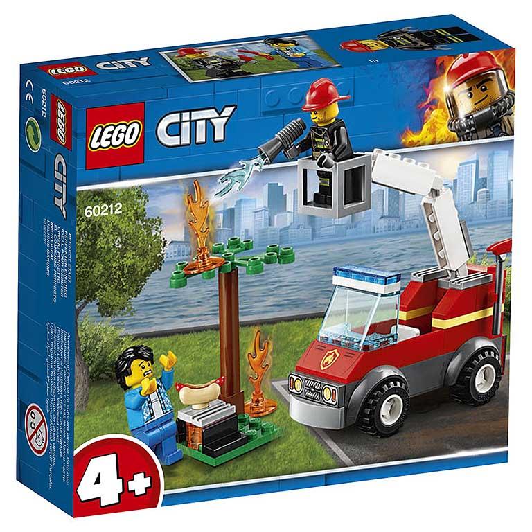 """60212 CITY """"Пожар на пикнике"""""""