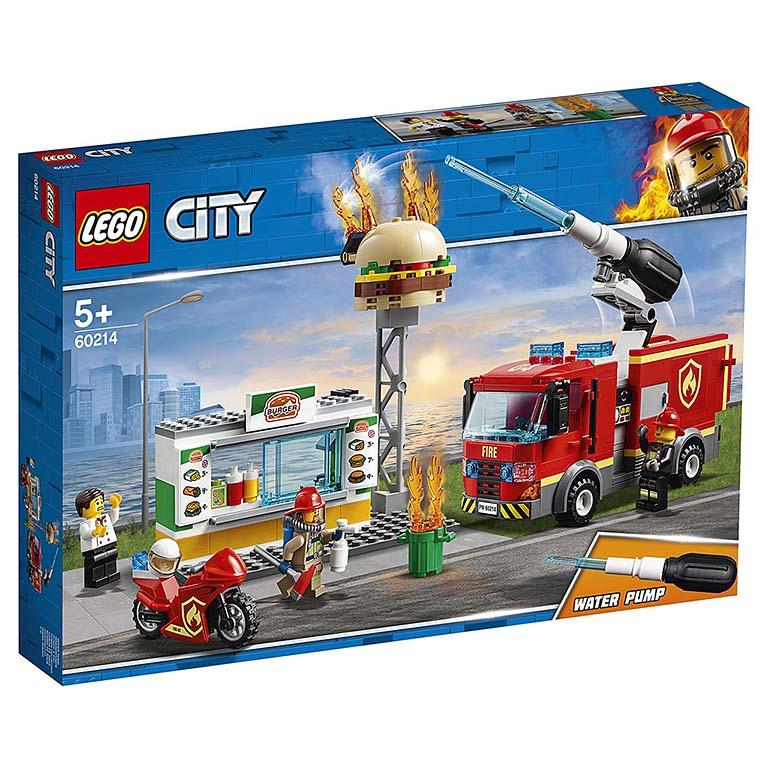 "60214 CITY ""Пожар в бургер-кафе"""