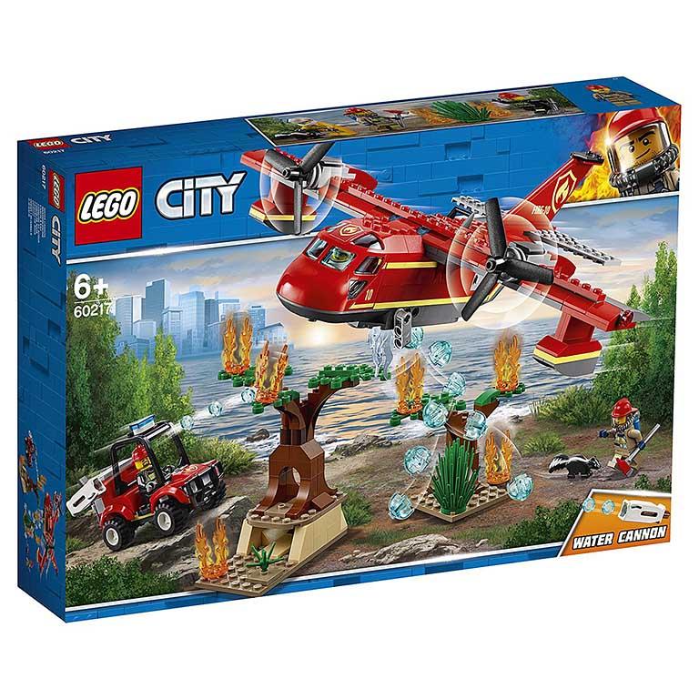 """60217 CITY """"Пожарный самолет"""""""