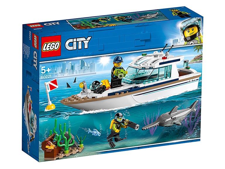 """60221 CITY """"Яхта для дайвинга"""""""
