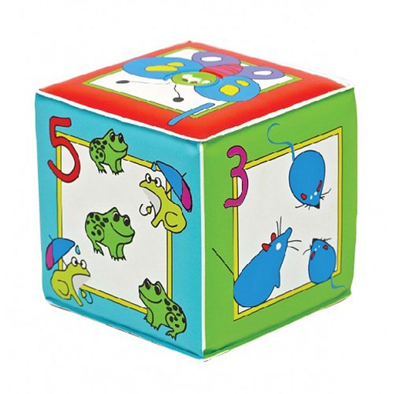 """27077 Игрушка-кубик с пищалкой """"Учимся считать"""""""