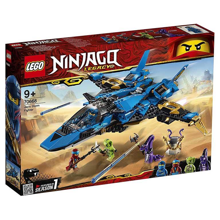 """70668 Ninjago """"Штормовой истребитель Джея"""""""