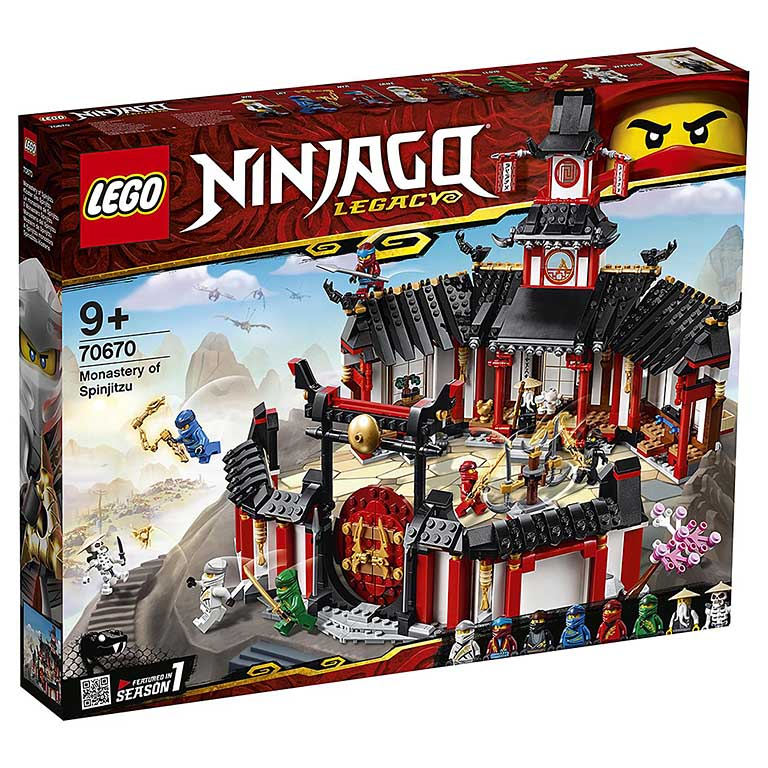 """70670 Ninjago """"Монастырь Кружитцу"""""""