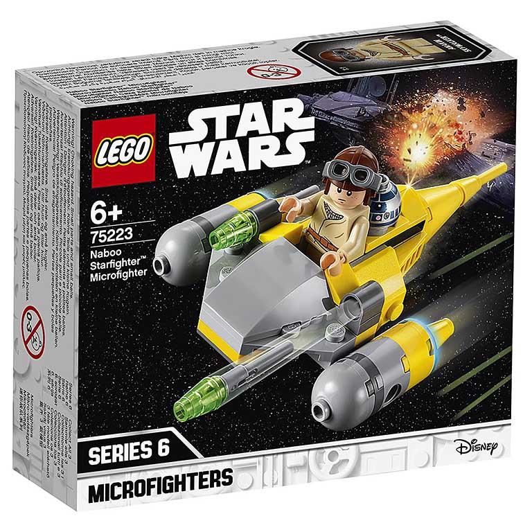 """75223 STAR WARS """"Микрофайтеры: истребитель с планеты Набу"""""""