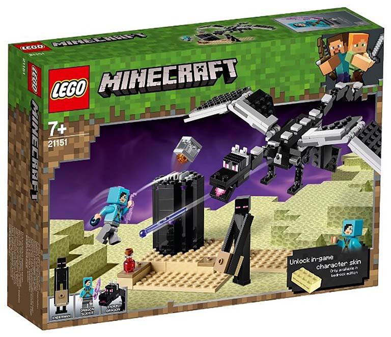 """21151 Конструктор LEGO Minecraft """"Последняя битва"""""""