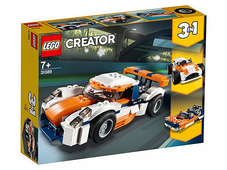 """31089_1 Creator """"Оранжевый гоночный автомобиль"""""""