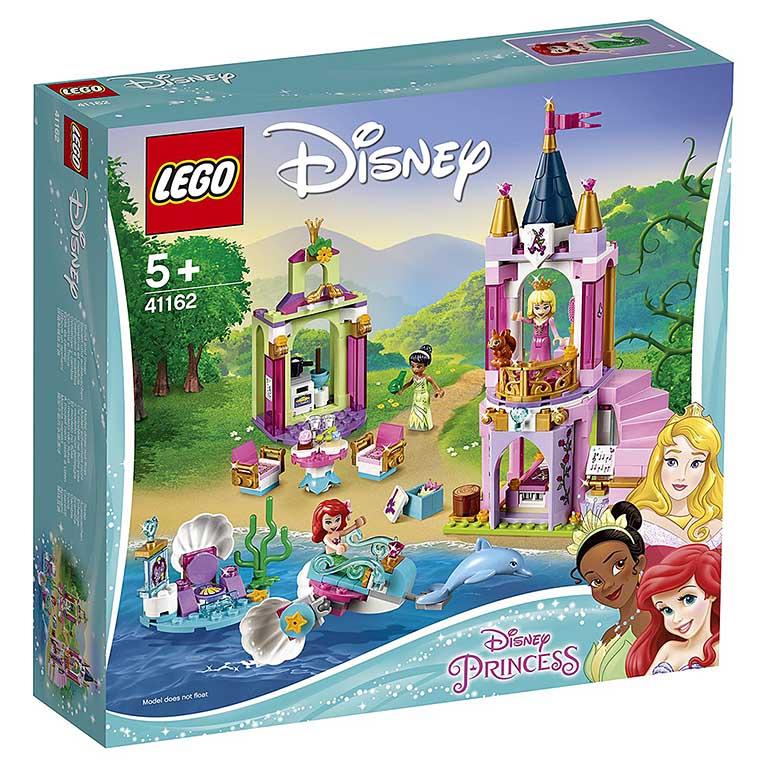 """41162 Princess """"Королевский праздник Ариэль, Авроры и Тианы"""""""