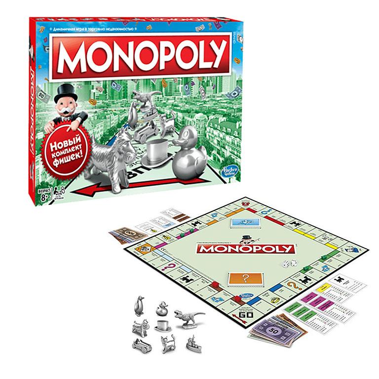 C1009121 MONOPOLY Игра настольная МОНОПОЛИЯ КЛАССИКА